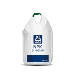 Yara NPK 5-10-25+7S+B